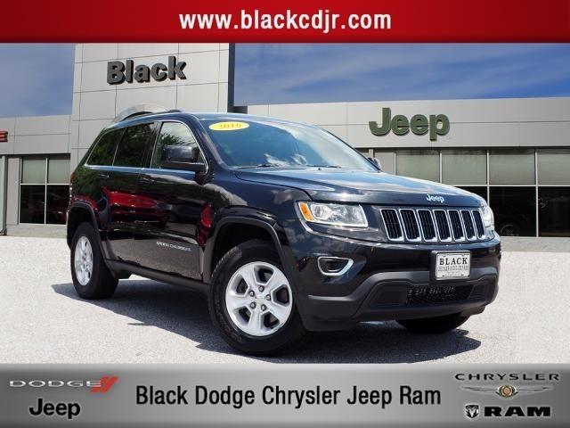 Jeep Laredo 2016 >> 2016 Jeep Grand Cherokee Laredo E