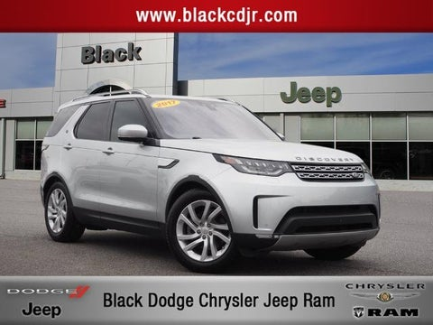 2017 Land Rover Discovery Hse In Statesville Nc Black Chrysler Dodge Jeep Ram